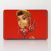 stark iPad Cases featuring Tiny Stark by garciarts