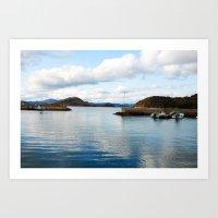 Seto Inland Sea Art Print