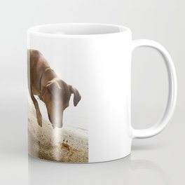 Dogs with the game face on .45 Coffee Mug