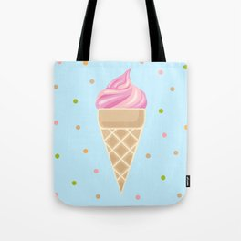 Vintge Ice Cream 2 Tote Bag