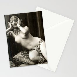 Vintage Nude Art Beauty No. 103 of 250, from the Vintage Nude Arts Collection. Stationery Cards