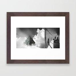 Sighting Framed Art Print