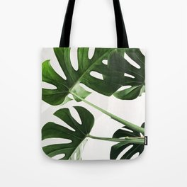 CloseUp Monstera Tote Bag