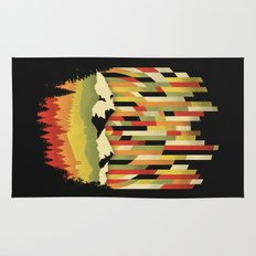 Sunset in Vertical Rug