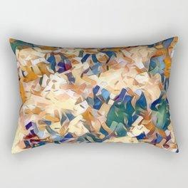 Autumn Forest Confetti Rectangular Pillow