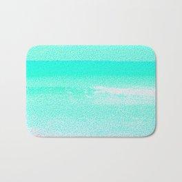 Blissful Beach - Turquoise Wave Bath Mat