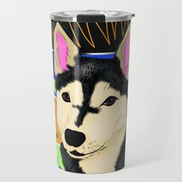 Titan de one dollar husky Travel Mug
