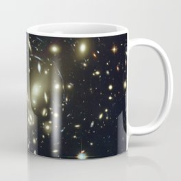 Distant galaxies, Abell 2218. Coffee Mug