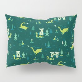 Cryptid Cuties: The Lochness Monster Pillow Sham
