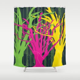 LEAF ME ALONE Shower Curtain