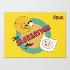 The Jake & Finn Show. Canvas Print