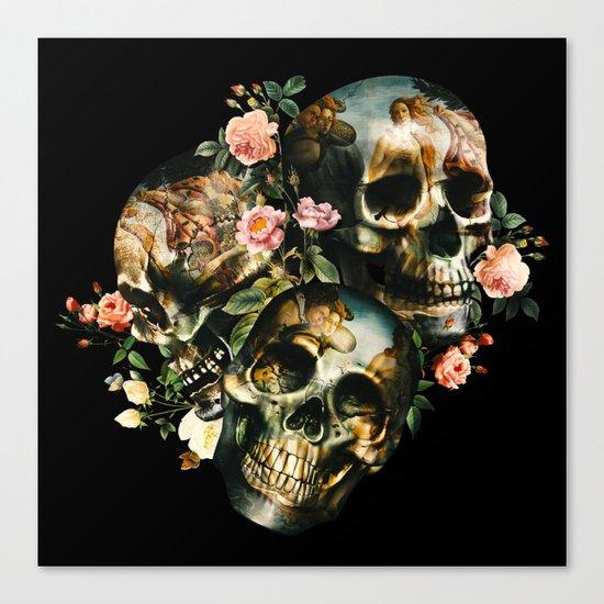 Skull & Venus Canvas Print