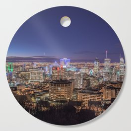 Montreal Night Moves Cutting Board
