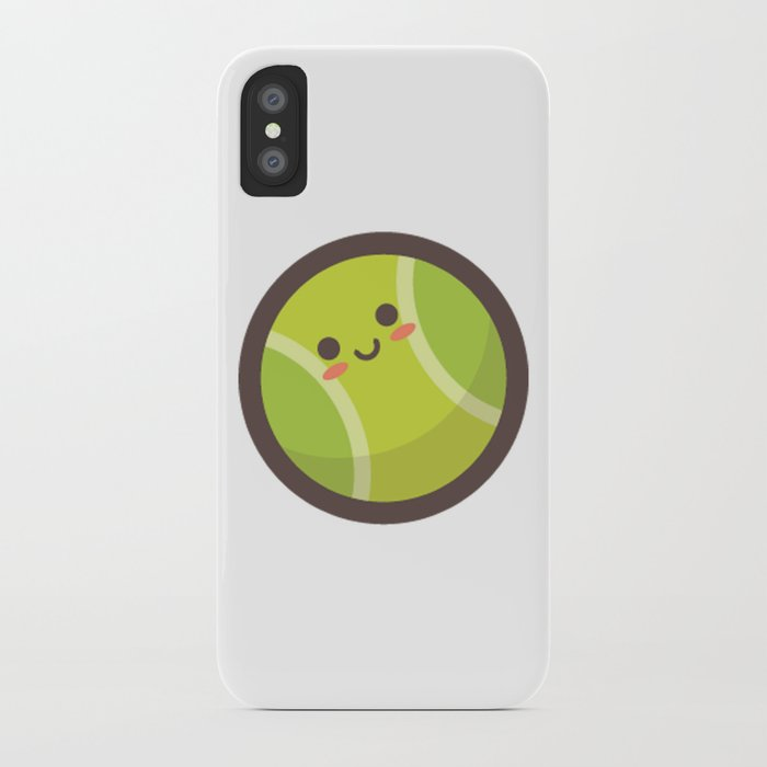 Tennis Ball Emoji Iphone Case By Azza1070 Society6
