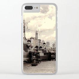 HMS Belfast Clear iPhone Case