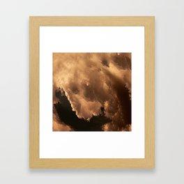The Clouds #1 Framed Art Print