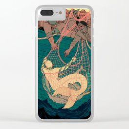 Catch and Release Clear iPhone Case