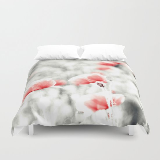 Poppy Poppies Mohn Mohnblume Flower Duvet Cover