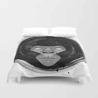 gorilla Duvet Covers featuring Gorilla  by dchristo