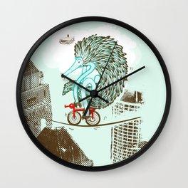 Ernie Echidna highwire extraordinaire  Wall Clock