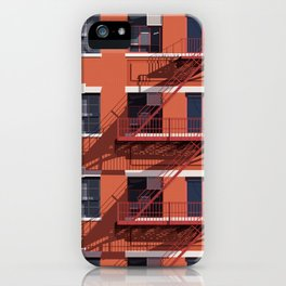 'Just Another New York Storey' - Architectural Study iPhone Case
