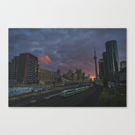 Coming and going  |  Toronto, Canada Canvas Print