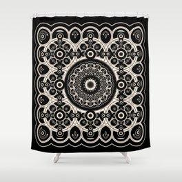Lace Mandala Shower Curtain