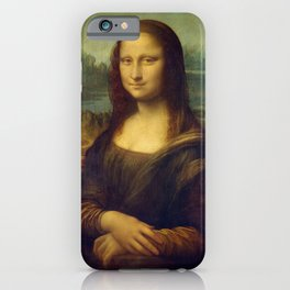 Mona Lisa - Leonardo da Vinci iPhone Case