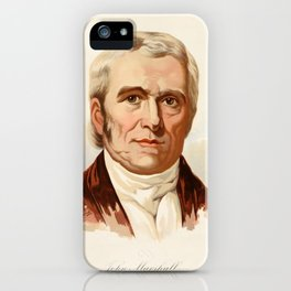 Our Country 1891 - John Marshall, Fourth Chief Justice of US iPhone Case