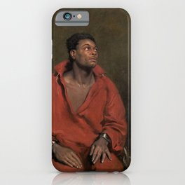 African American Masterpiece The Captive Slave by John Philip Simpson iPhone Case