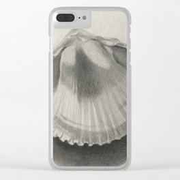 Cockle Shell Clear iPhone Case