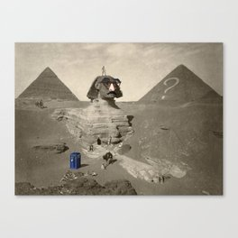 The Sphinx in time Canvas Print