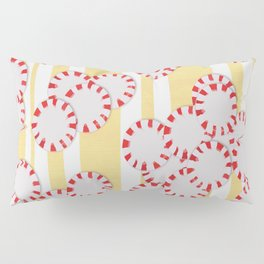 moves in red and yellow parts Pillow Sham