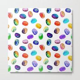 Bright pattern of watercolor  spots Metal Print