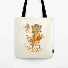 Rebecca the Radish Raccoon Tote Bag