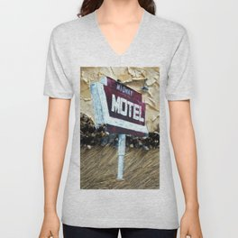 Midway Motel Unisex V-Neck