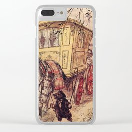 Arthur Rackham - The Wind in the Willows (1940) - The Gypsy Wagon Clear iPhone Case