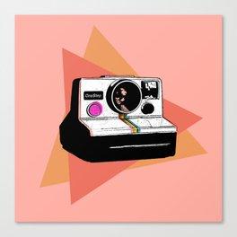 The Classic ( Polaroid SX70 ) Canvas Print