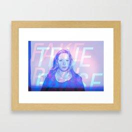 True False / Fake Real Framed Art Print