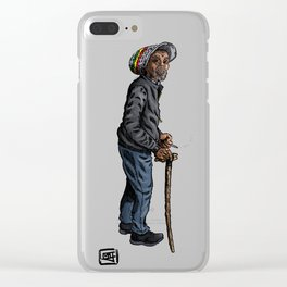 Rasta General Clear iPhone Case