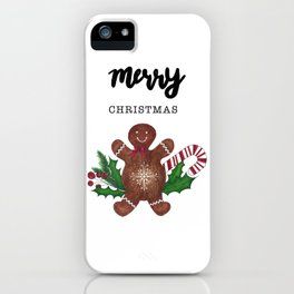 Ginger cookie iPhone Case
