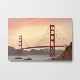 Golden Gate Bridge (San Francisco, CA) Metal Print