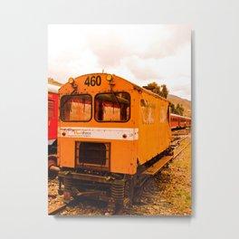 OLD WAGON TRAIN Metal Print