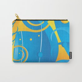 Abstract vector Carry-All Pouch