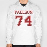 sarah paulson Hoodies featuring Sarah Paulson Varsity by NameGame