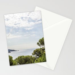 Seacoast near Le Lavandou and Bormes-les-Mimosas in French Riviera Stationery Cards