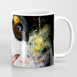 jack russell terrier dog crazy eyes ws Coffee Mug