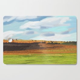 Farming Plain Cutting Board