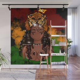Lioness Rising Wall Mural