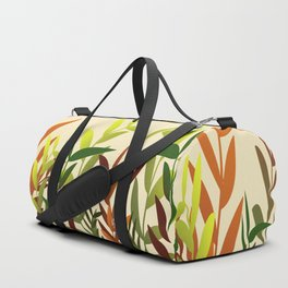 Colored Leaves yellow - Illustration Duffle Bag